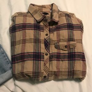 BDG Tops - BDG Urban Outfitters Plaid Button Down